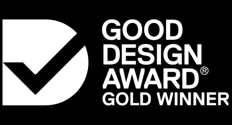 Good Design Award Gold Winner